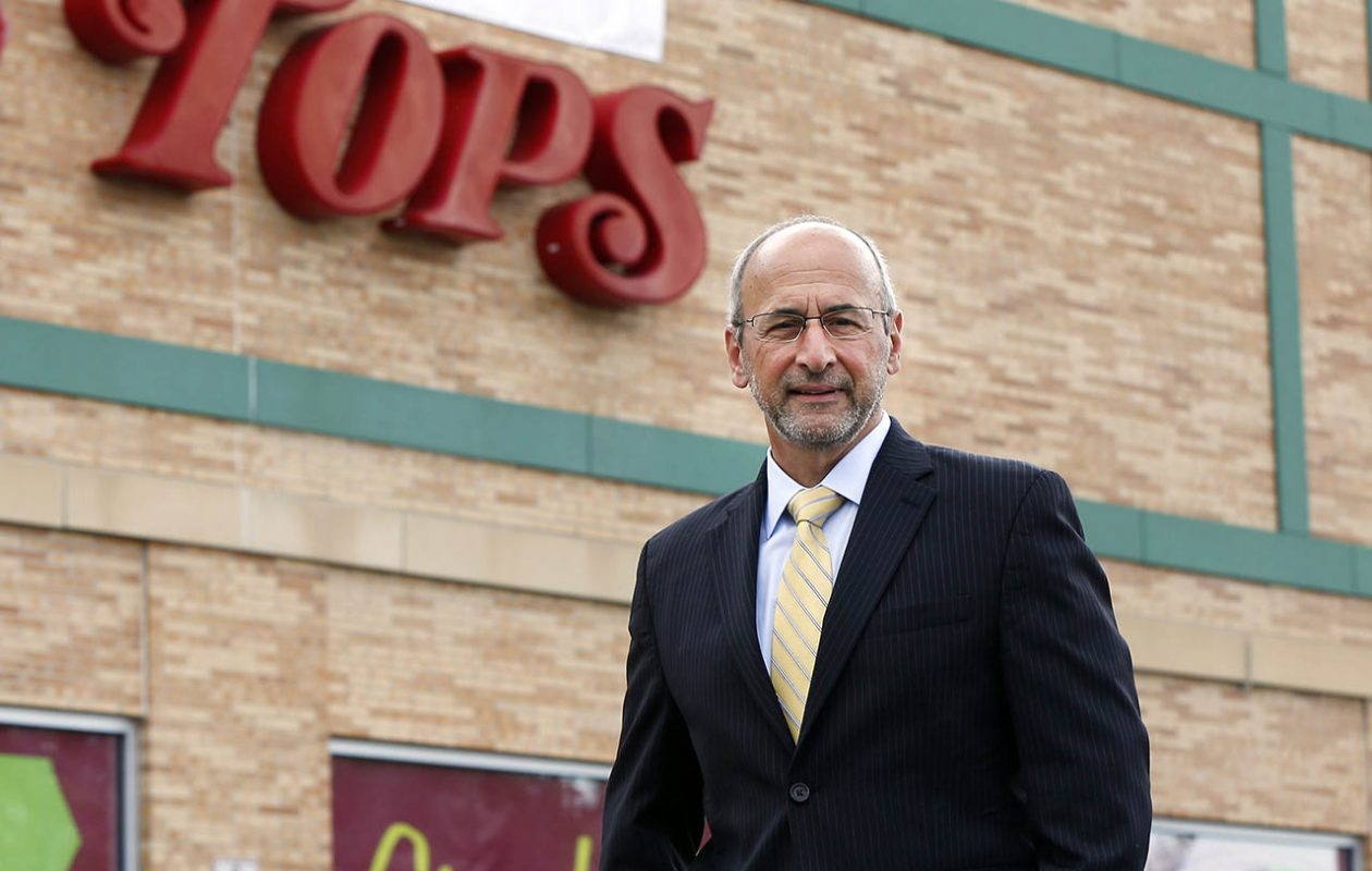 Frank Curci, chairman and CEO of Tops Markets, could have received a bonus under a plan the company submitted to the U.S. Bankruptcy Court but has since agreed to withdraw.  (Mark Mulville/News file photo)