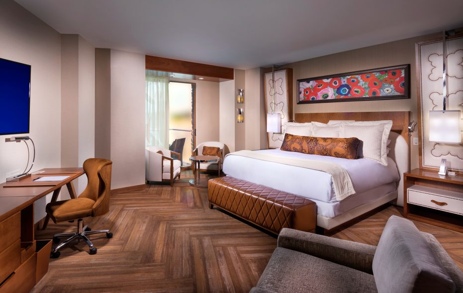 del Lago is the region's newest resort casino, with easy proximity to the Seneca Lake wine trail. Rooms are spacious and nicely appointed. (The Buzz Creative Group)