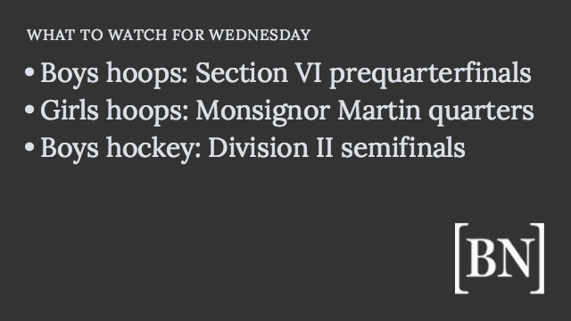 Homeroom Announcements: Wednesday's big games & more