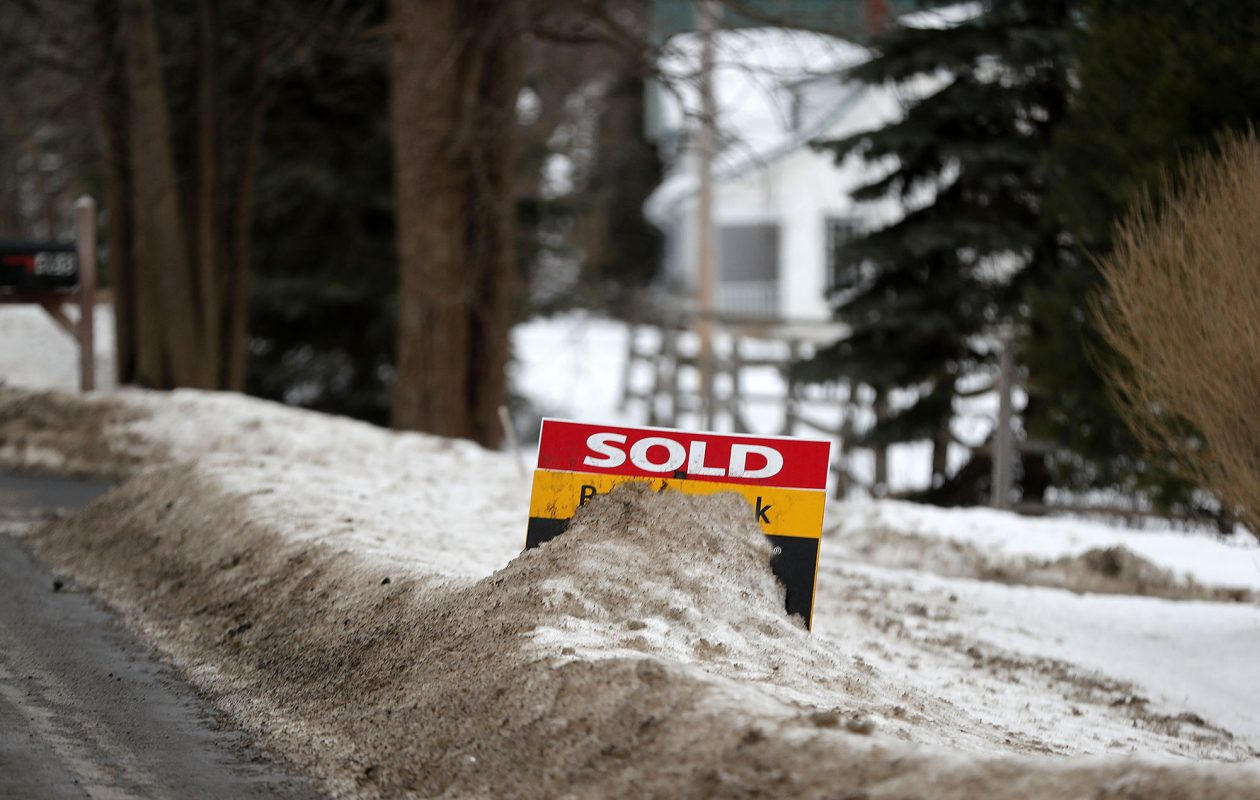 Home prices keep rising as available homes are in short supply. (Mark Mulville/News file photo)