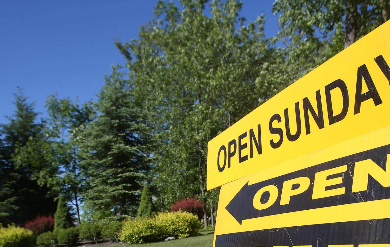Home sale prices hit a record high in July. (Robert Kirkham/News file photo)
