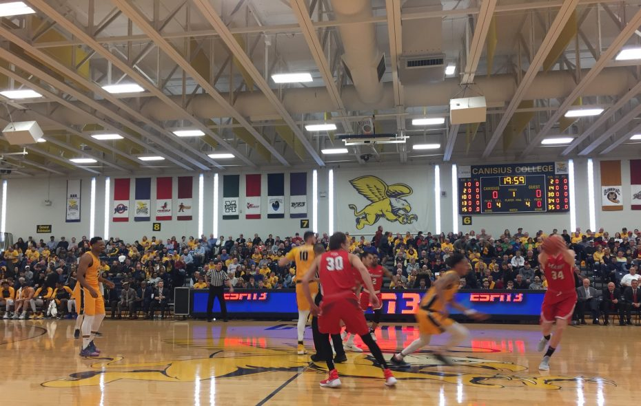 Canisius defeated Marist in the Koessler Athletic Center Sunday afternoon.