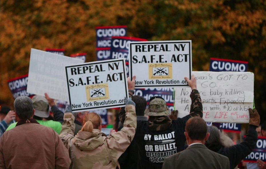 The recertification mandate New York's SAFE Act imposes on law-abiding gun owners is just one more reason they want the measure repealed. (News file photo)