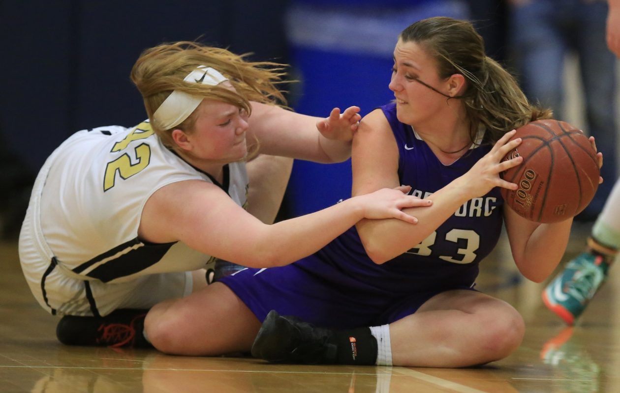 Hamburg advanced to the semifinals with a 61-47 win over Kenmore East. (Harry Scull Jr./Buffalo News)