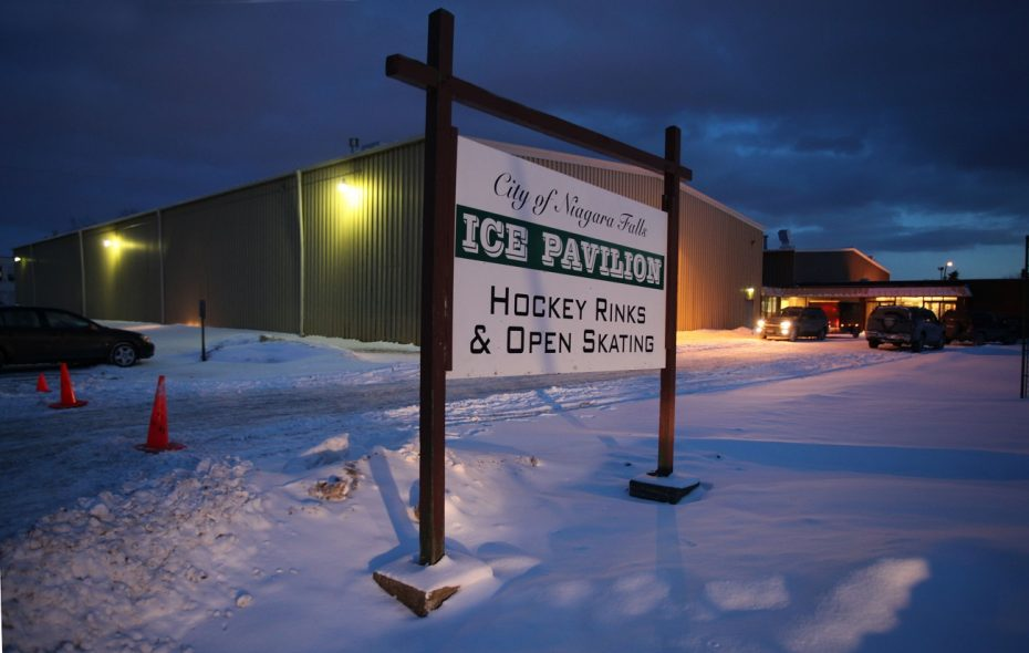 Hyde Park Ice Pavilion in Niagara Falls. (News file photo)