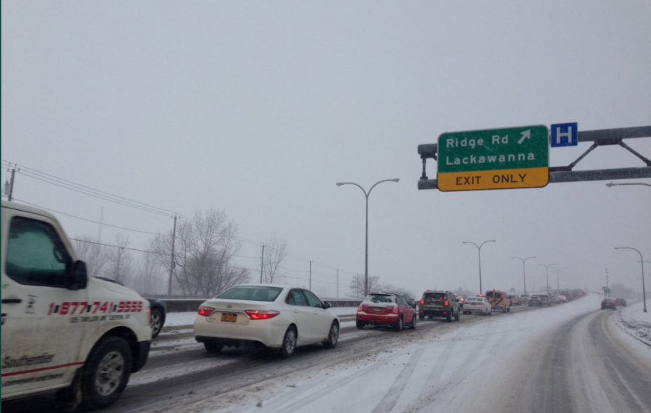 Inbound traffic on Route 5. (News file photo)