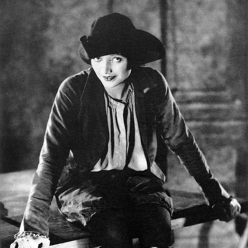 (Photograph by Kendall Evans of Katharine Cornell as Mary Fitton in the Broadway production of Clemence Dane's play 'Will Shakespeare.')