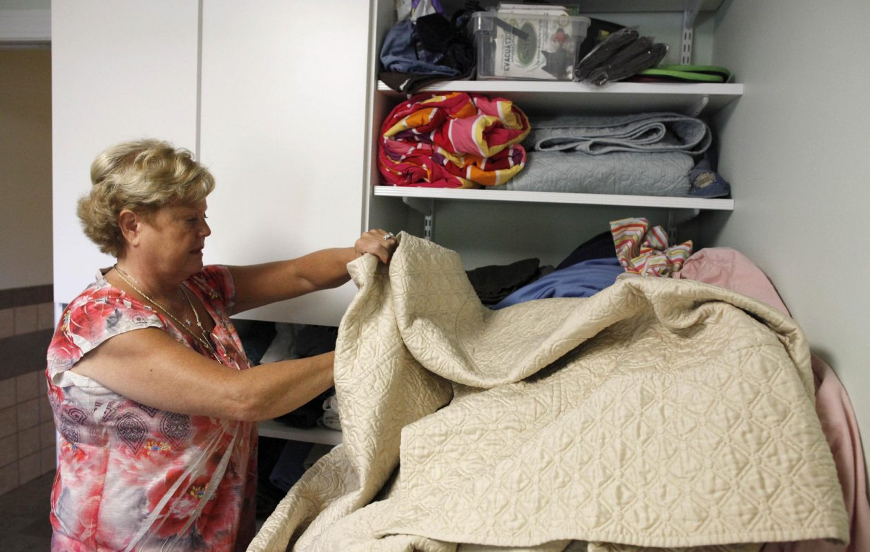 That cozy blanket feels great on a cold winter night, but it is also crawling with germs. (Derek Gee/News file photo)
