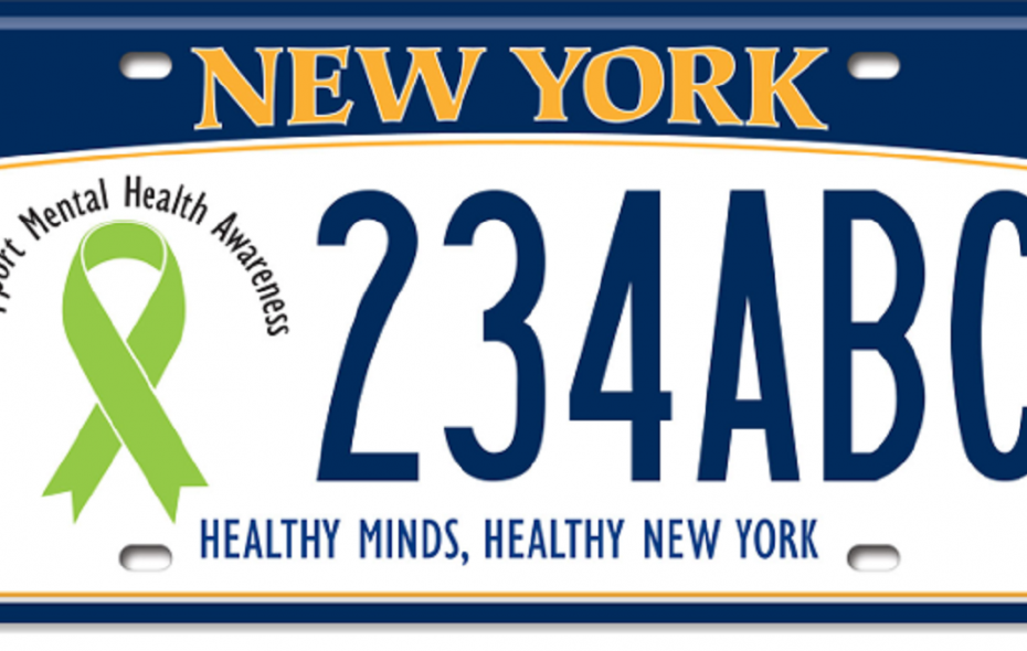New Yorkers are going to be getting new license plates.