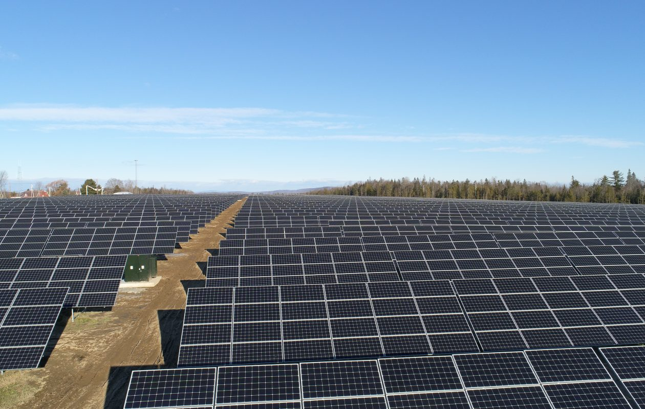 A solar array in Maine financed by M&T Bank. (M&T photo)