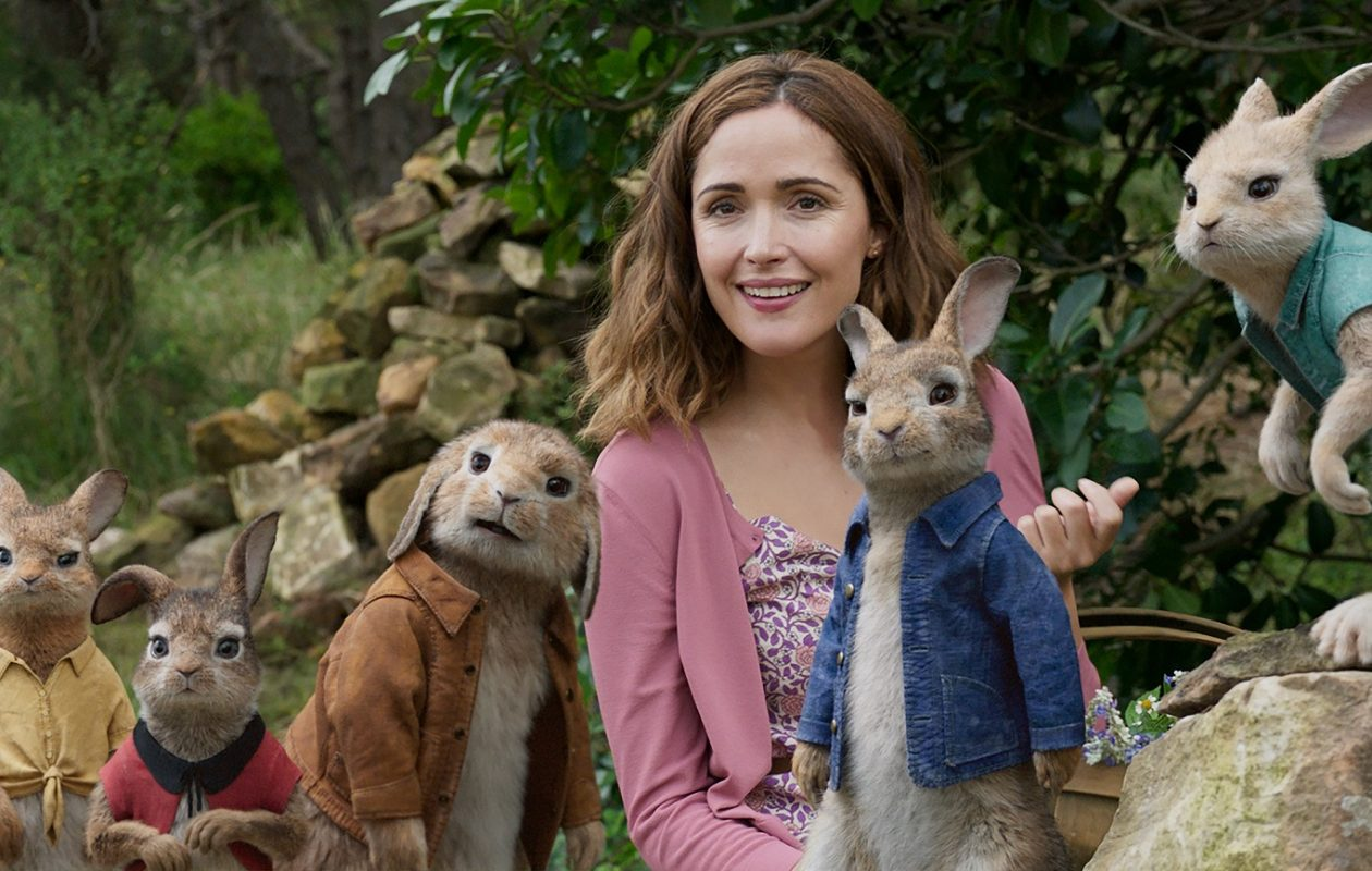 Rose Byrne and friends star in 'Peter Rabbit.'