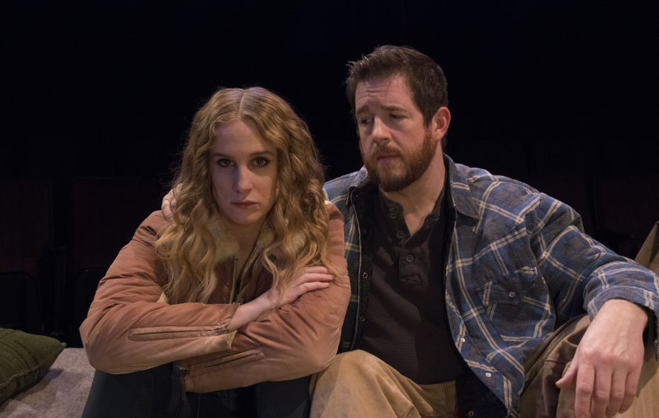 """Cassie Gorniewicz and Brian Mysliwy appear in the Irish Classical Theatre Company's production of """"The Night Alive."""""""
