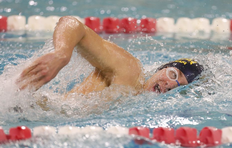 Canisius won its 16th straight All-Catholic title Tuesday. (Photo via @CHS_SwimTeam/Twitter)