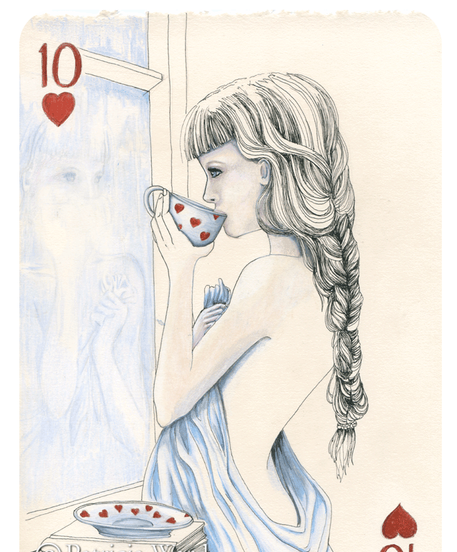Ten of Hearts by Patricia Ward
