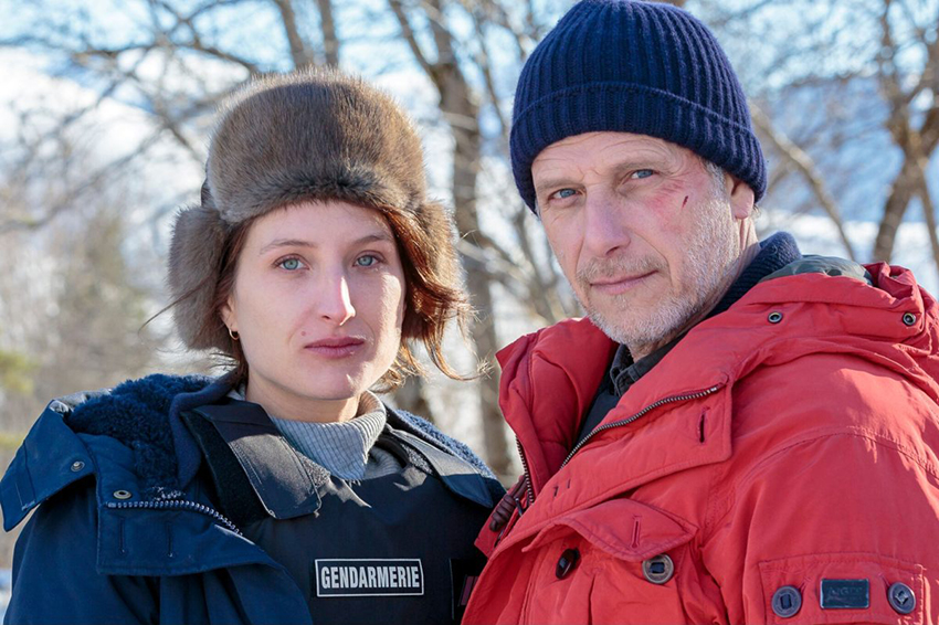 "Julia Piaton and Charles Berling are excellent in ""The Frozen Dead."""