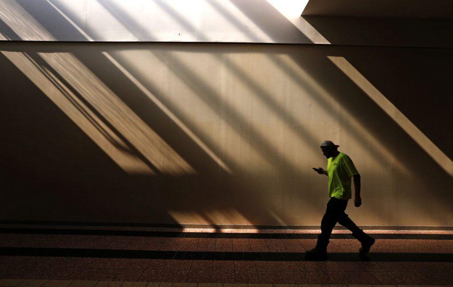 Dark days at the McKinley Mall. (Robert Kirkham/Buffalo News)
