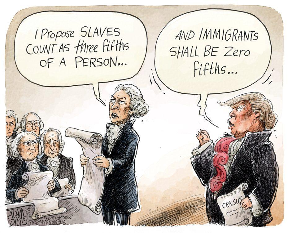 Trump Census Policy: March 30, 2018