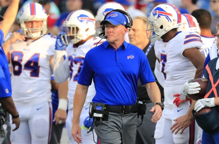Sean McDermott's first year as coach of the Bills