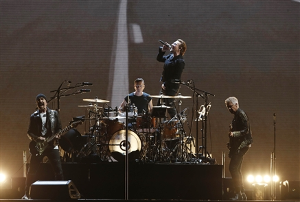 U2 in concert at New Era Field
