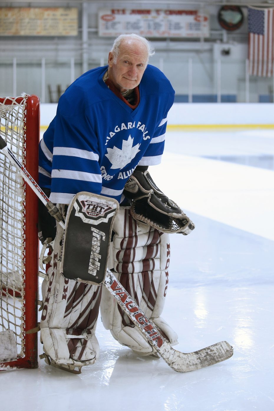 Eddie Farrell 81 Laces Up For The Love Of Hockey And The