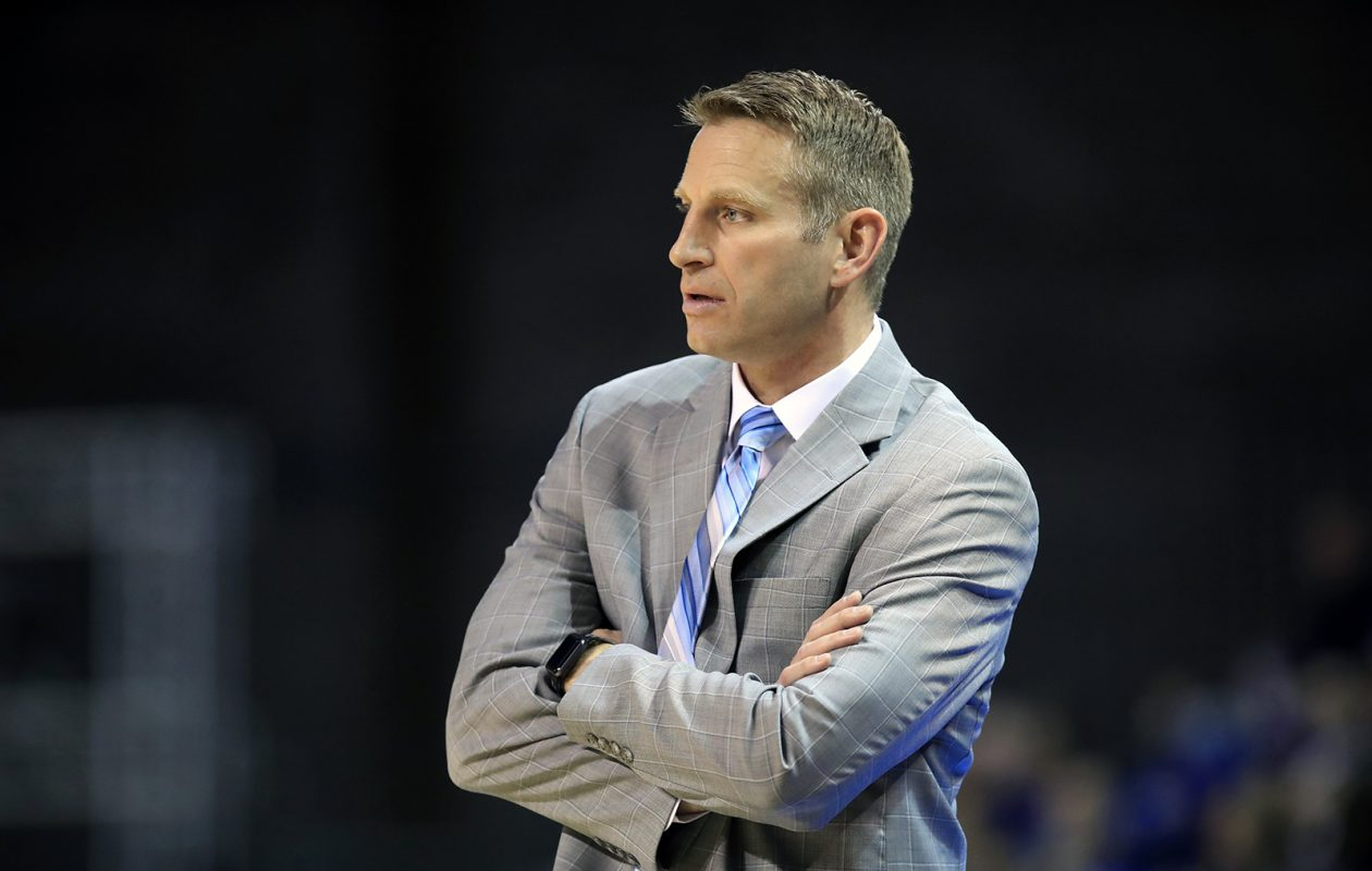 University at Buffalo coach Nate Oats was the sixth-highest paid coach in the league this season at $350,000. (Harry Scull Jr./News file photo)