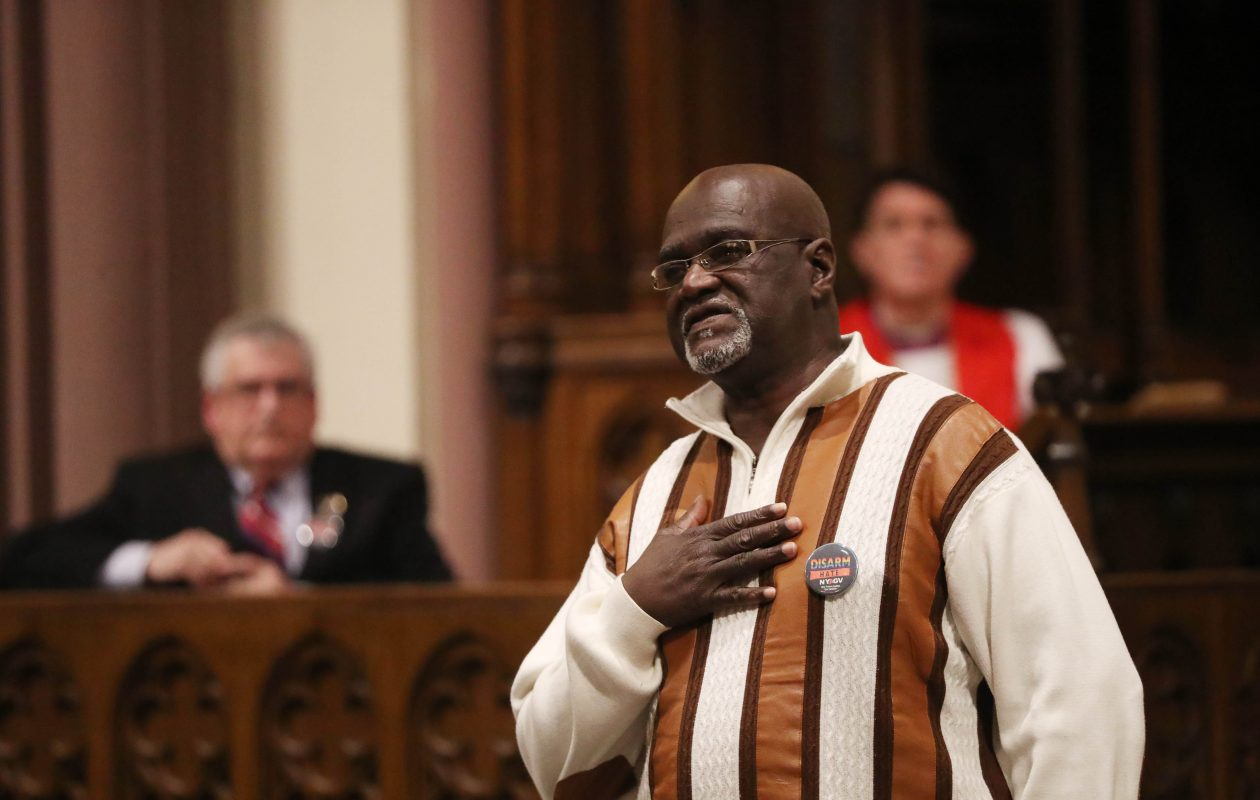 The Rev. James Giles is a longtime advocate for raising the age of criminal responsibility. (Sharon Cantillon/Buffalo News)