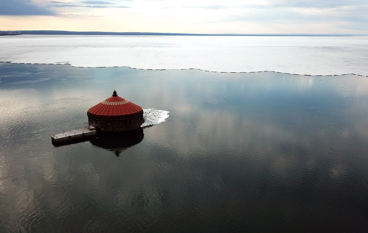 Don't let the diminishing ice cover on Lake Erie trick you into thinking winter is over. (John Hickey/News file photo)
