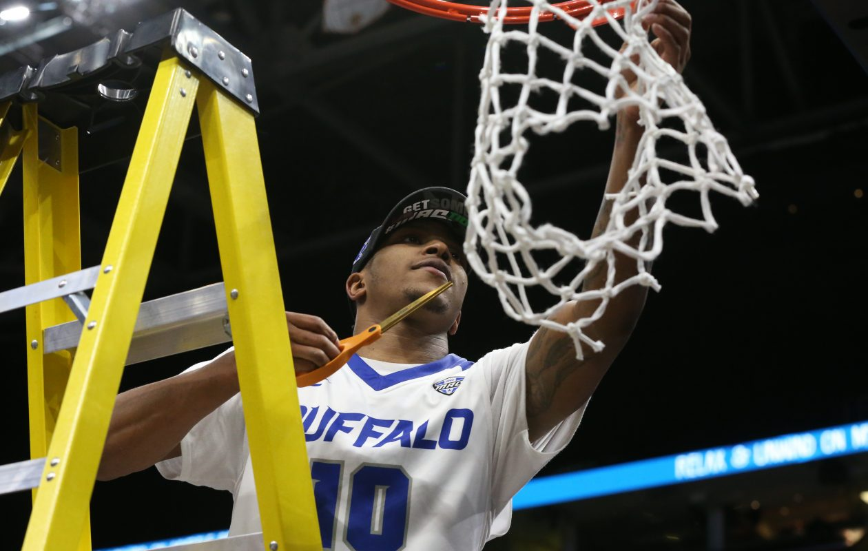 Wes Clark transferred to UB from Missouri hoping to experience this moment.  (James P. McCoy/Buffalo News)