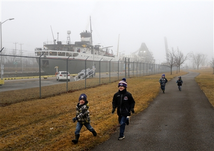 Ontario's Welland Canal opens for the season