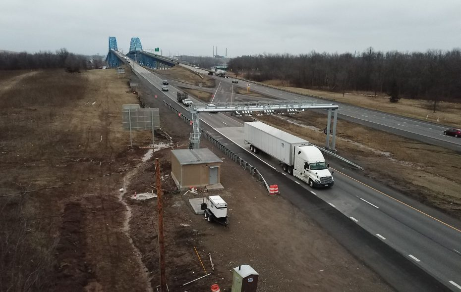 Cashless tolling began on Grand Island at the end of March. (John Hickey/News file photo)