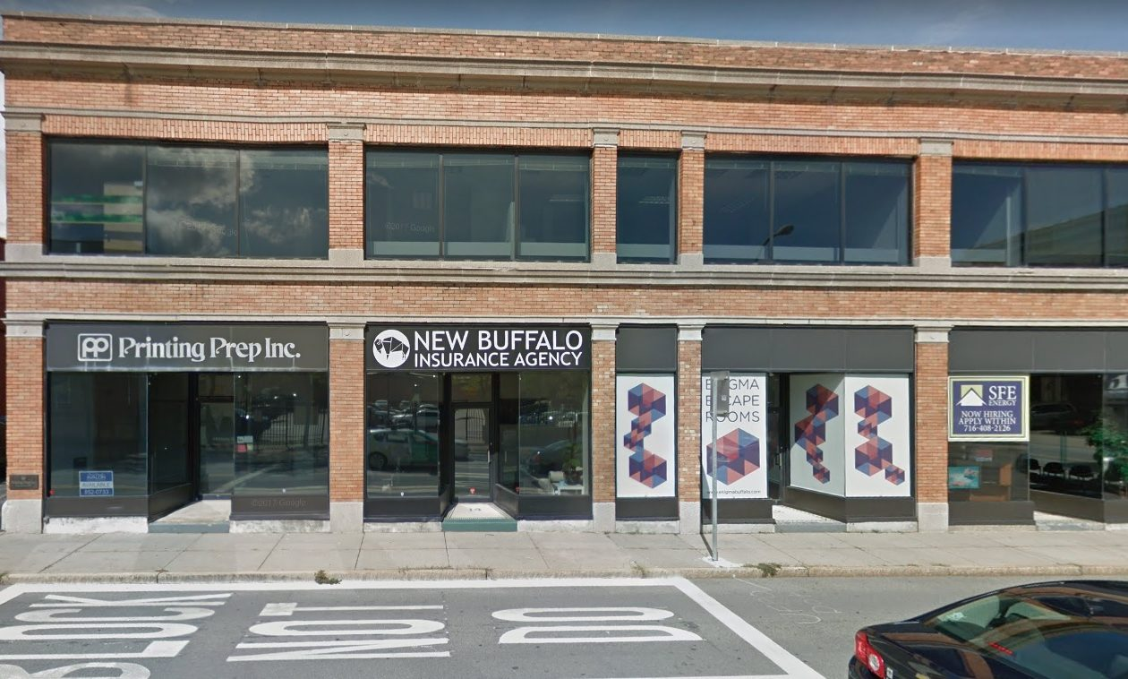 Chris Jacobs bought and is redeveloping the former Printing Prep building at 12 E. Tupper St. in downtown Buffalo.