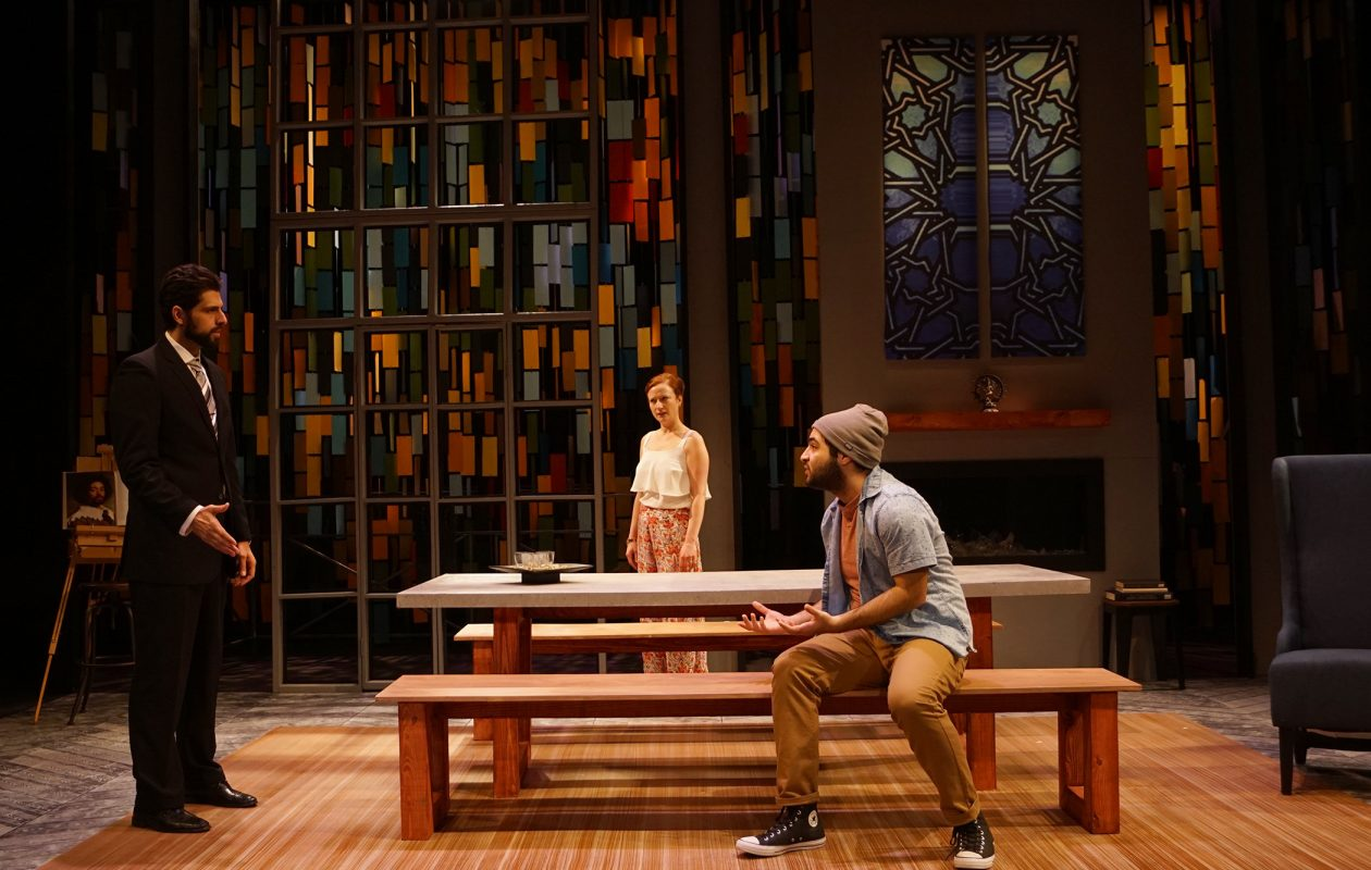 Road Less Traveled Theatre's production of 'Disgraced' won the 2017-18 Artie Award for outstanding production of a play, as well as for best set design.