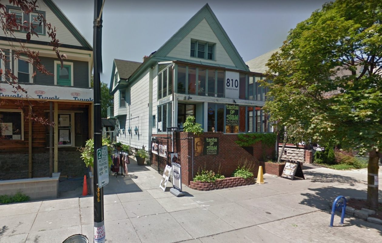 Barry Heneghan bought the two-building retail property at 810 Elmwood Ave., with Taste of Siam and Second Chic.