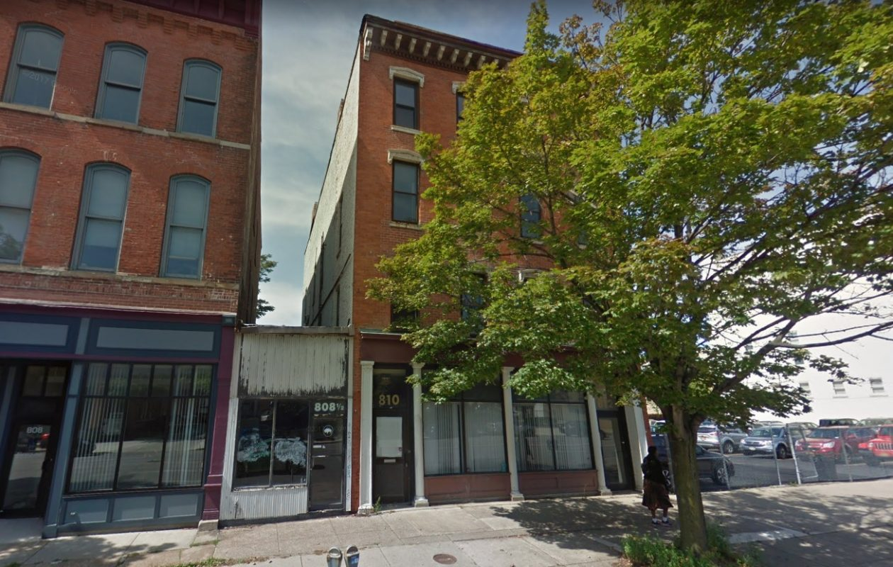 Frank Chinnici's Legacy Development has put 810 Main St. back up for sale, despite having a redevelopment plan for the property. (Google Maps)