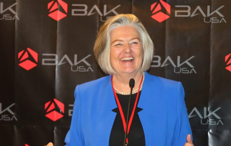 Bak USA president Ulla Bak will be one of the panelists at the event.  (Mark Mulville/Buffalo News file photo)