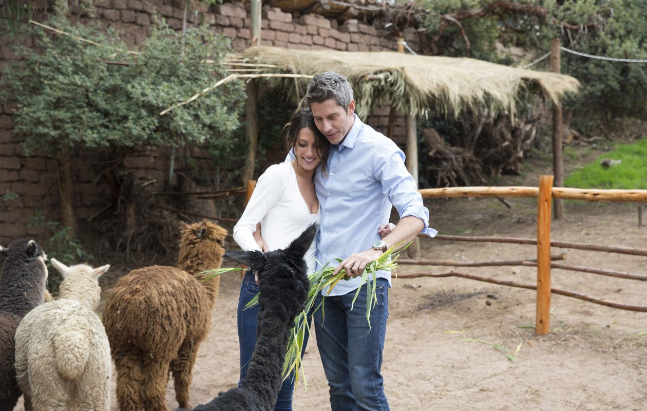 Becca Kufrin and Arie Luyendyk Jr. on 'The Bachelor.' (ABC/Paul Hebert)