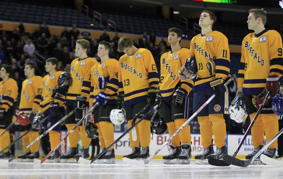 The 14th annual Scotty Bowman Showcase, featuring some of the top high school boys hockey players from Buffalo and Rochester, happens Thursday in KeyBank Center. (Harry Scull Jr./News file photo)