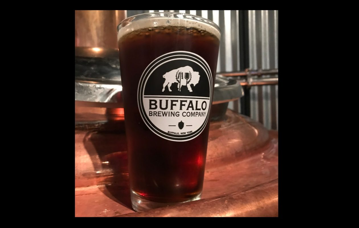 Buffalo Brewing Co.'s Irish red ale is a nice fit for the St. Patrick's Day season. (via Buffalo Brewing)