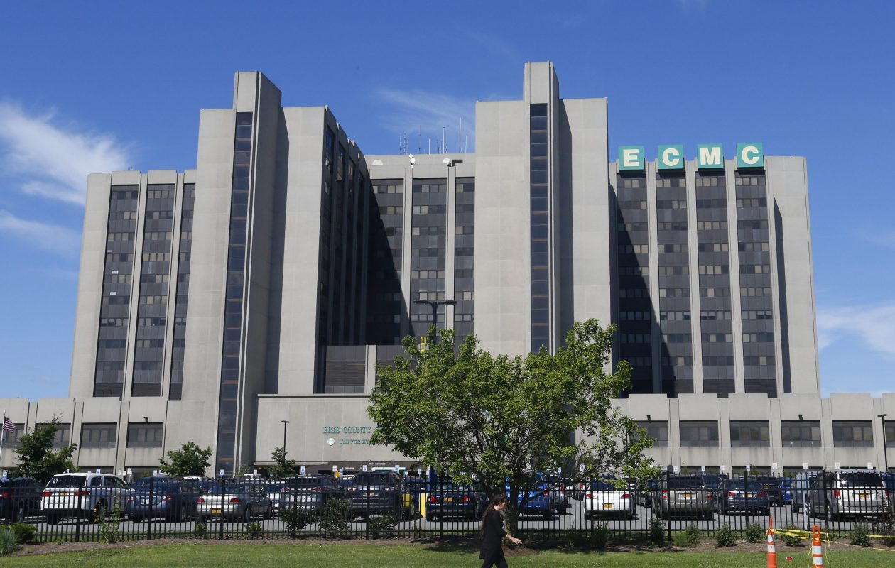 Erie County Medical Center will celebrate its 100th anniversary Sunday, March 18, 2017.    (Mark Mulville/Buffalo News file photo)