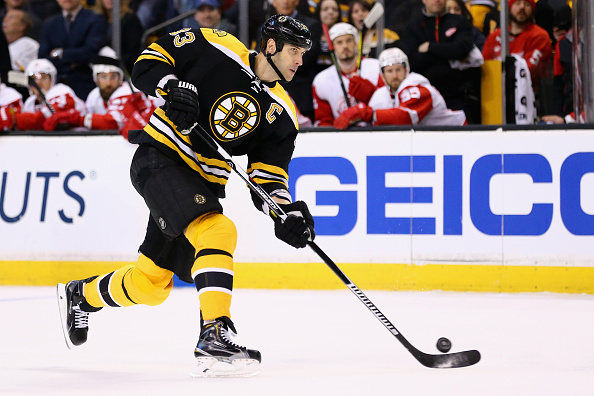 Zdeno Chara and the Bruins are charging to overtake the Lightning for the best record in the East (Getty Images).