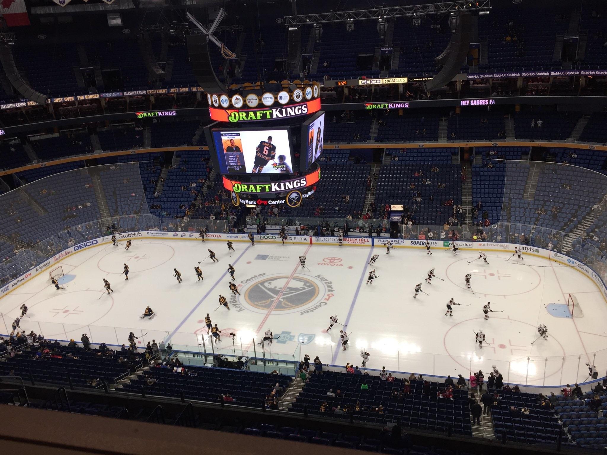 Live coverage: Arizona Coyotes at Buffalo Sabres