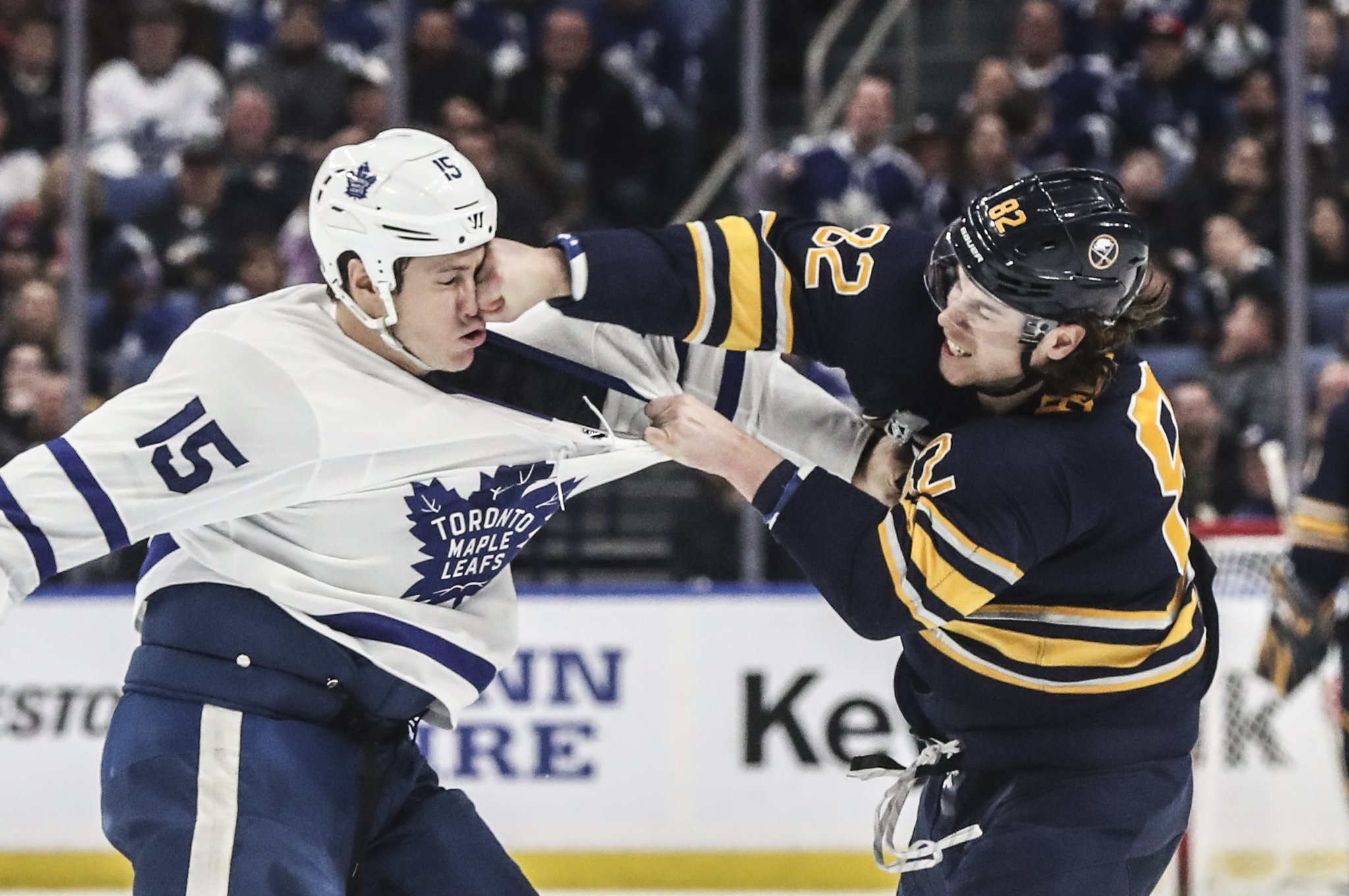 As fighting disappears in the NHL, bouts like Beaulieu-Martin stand out