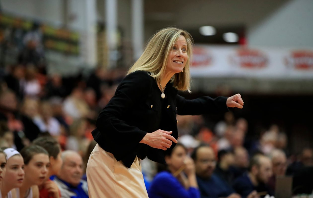 Coach Kristen Dolan has the Williamsville South girls basketball team in the NYSPHSAA final four for the first time since 2015, when the Billies won their first-ever state title. (Harry Scull Jr./Buffalo News)