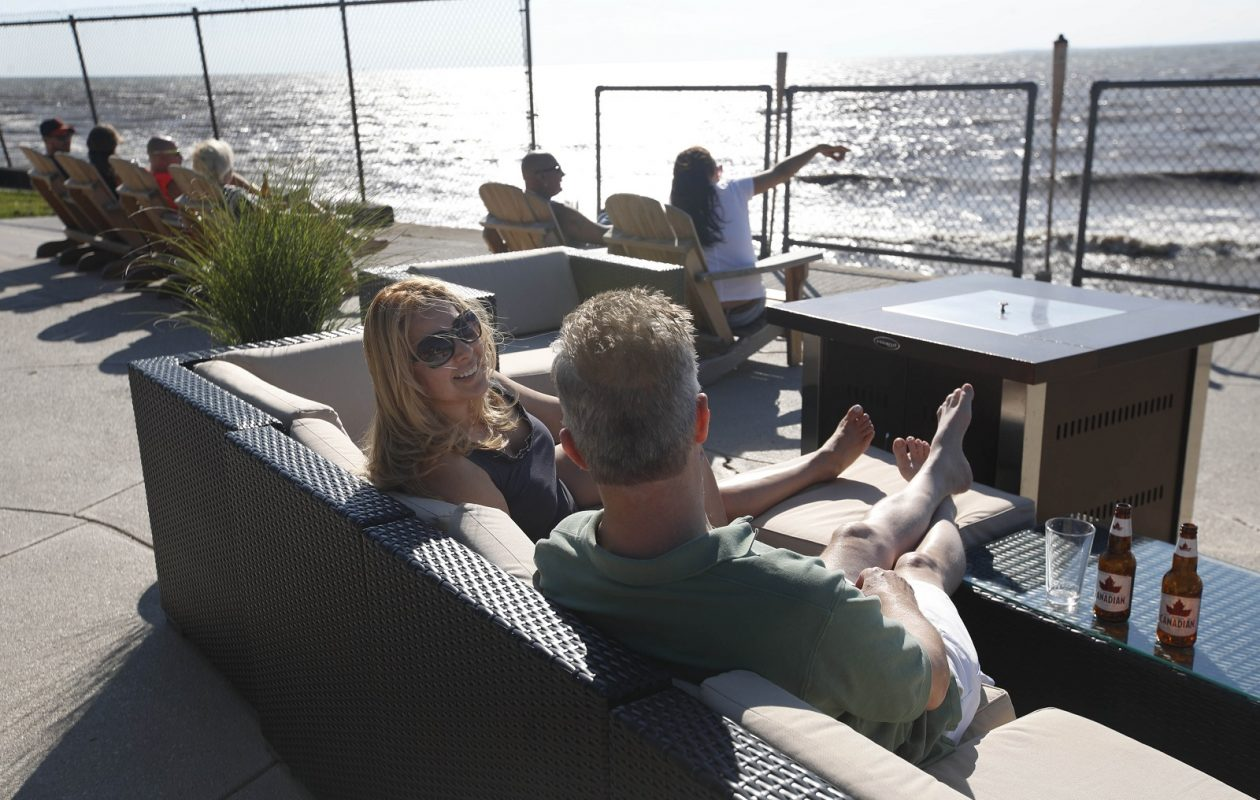 Dos Amigos, which has a spacious waterfront patio, has adjusted the concept of its restaurant. (Sharon Cantillon/News file photo)