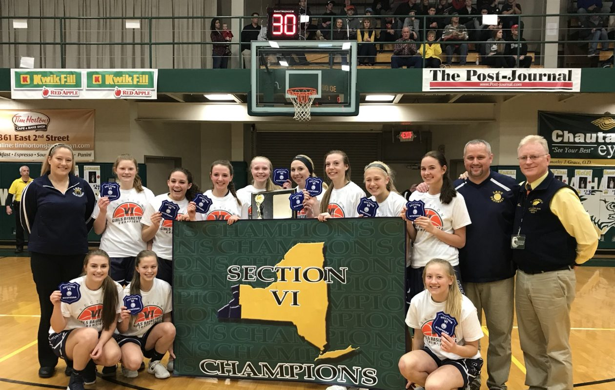The Franklinville girls basketball team heads into Saturday's Far West Regionals at Rush-Henrietta as the last undefeated team left in Western New York.