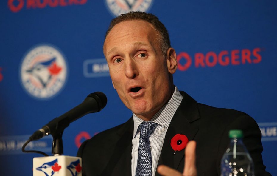 Blue Jays President and CEO Mark Shapiro is keeping one eye on the present and one on the future. (Getty Images)