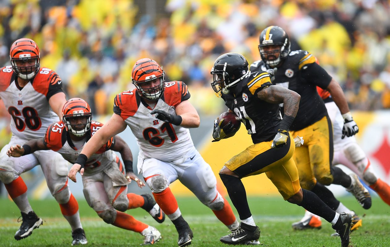 Bengals center Russell Bodine (61) is a former fourth-round draft pick. (Getty Images)
