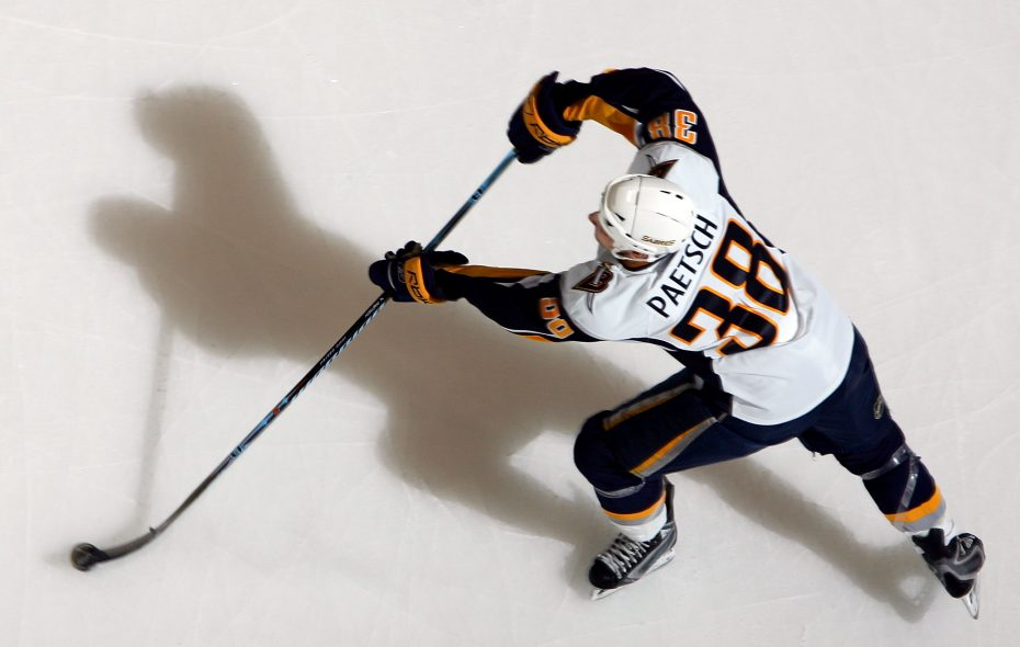 Nathan Paetsch played for the Sabres from 2006 to 2010. (Getty Images)