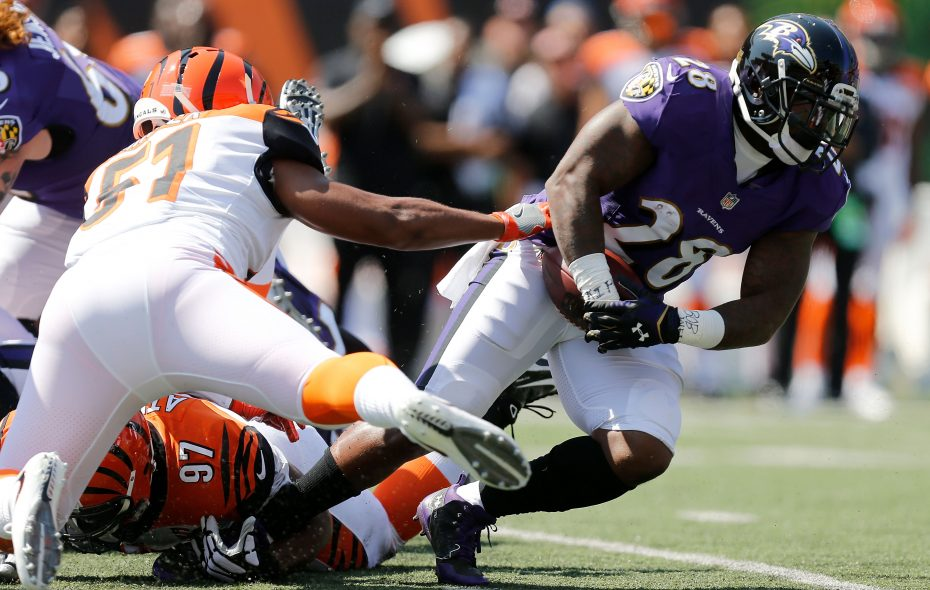 Bengals linebacker Kevin Minter played in nine games in 2017. (Getty Images)