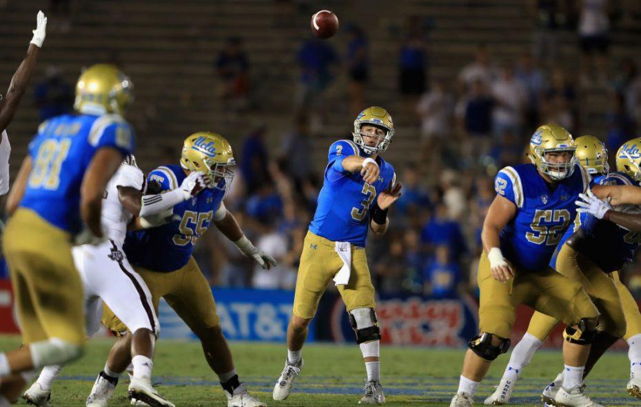UCLA quarterback Josh Rosen (Getty Images file photo)